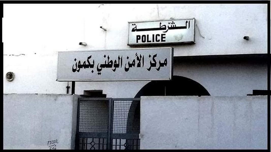 شرطة قرمدة :  القاء  القبض  على من قام  بتخريب  مركز البريد ليلة  البارحة