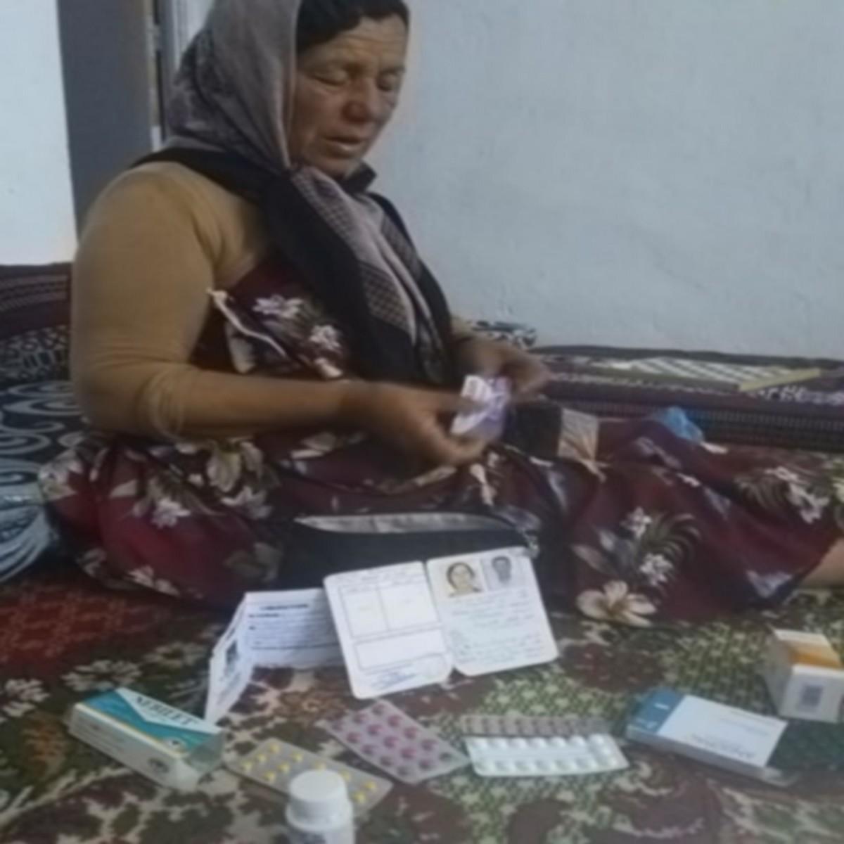 صفاقس نداء للسلط إمرأة  فقيرة محرومة من الدواء والغذاء