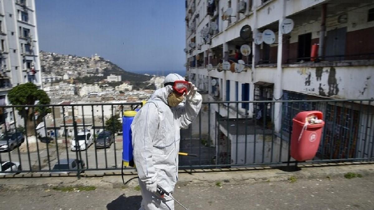 الجزائر: ارتفاع قياسي في عدد الإصابات بكوفيد-19