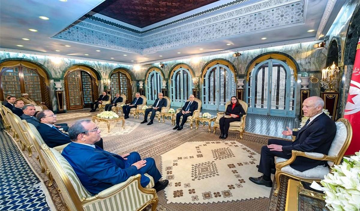 رئيس  الدولة يستقبل سمير  ماجول