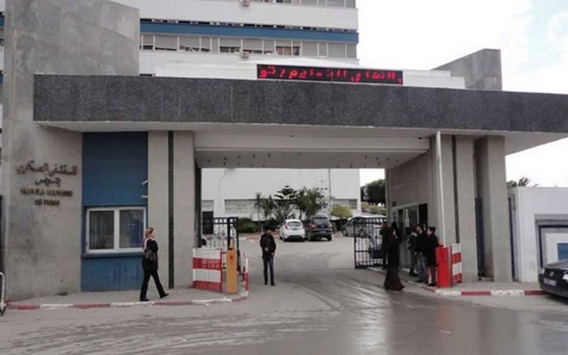 نقل جرحى الحرس الوطني جوا إلى المستشفى العسكري بتونس