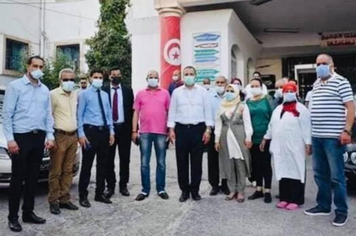 وزير الصحة يزور الجهة الصحية بكل من باجة وجندوبة