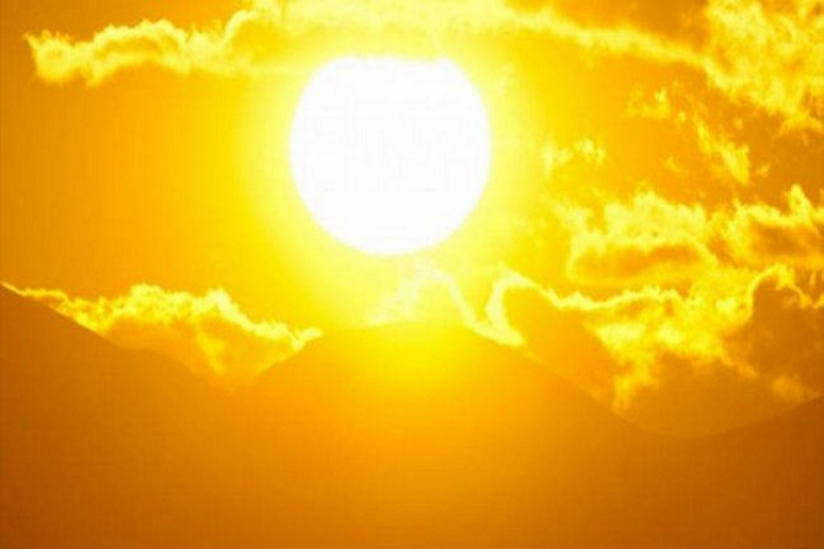 ارتفاع في درجات  الحرارة