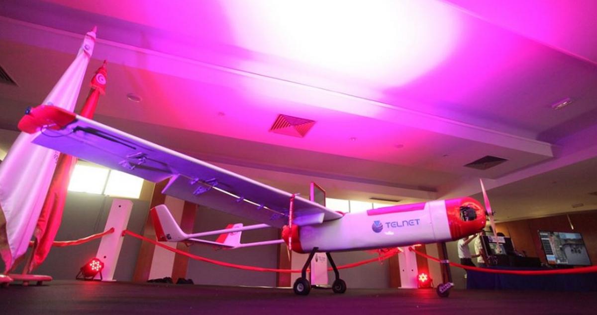 رجل الأعمال محمد الفريخة يكشف عن تصنيع شركته طائرة بدون طيار