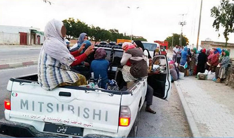 اتّحاد الشغل يدعو للاحتجاج بعد حادث عاملات الفلاحة بسجنان