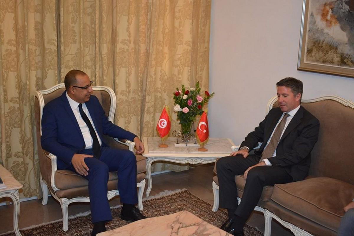 وزير الداخلية  يستقبل سعادة سفير الجمهورية  التركيّة
