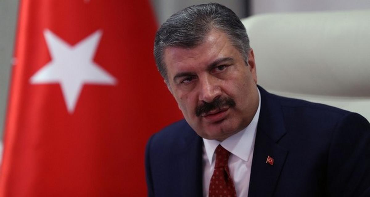 وزير الصحة التركي يعلن عن إحصائيات كورونا في تركيا السبت