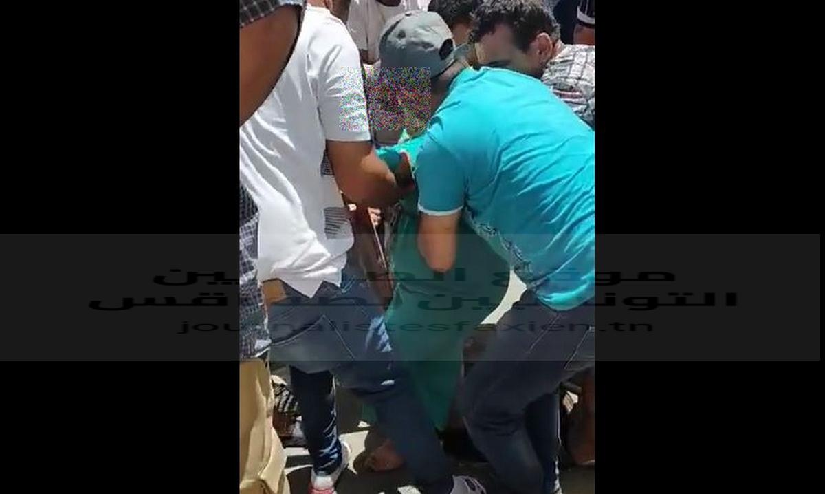 صفاقس عاجل : إنقاذ إمرأة من موت مُحققّ سقطت في بالوعة الأوناس