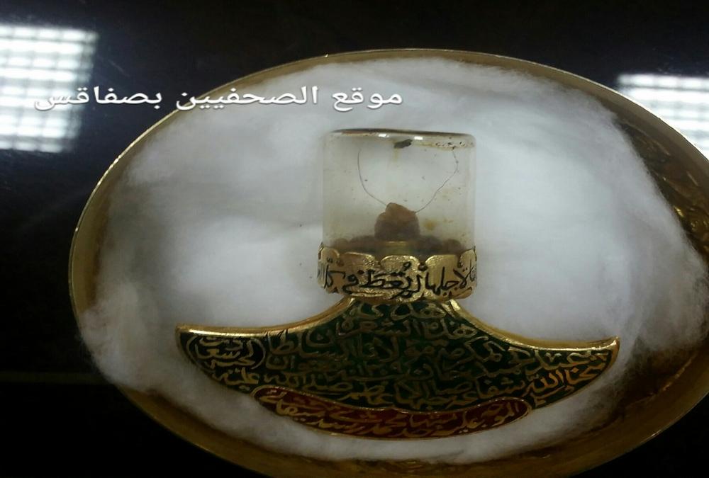 """الأثر النبوي الشريف الذي """"يكحل عين"""" طرابلس اللبنانية خاص من سامر الحلبي"""