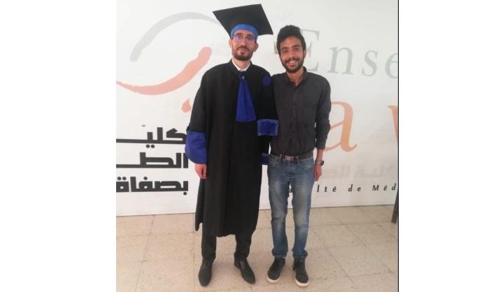 ألف مبروك شهادة الدكتوراه في الطبّ قسام بن علي