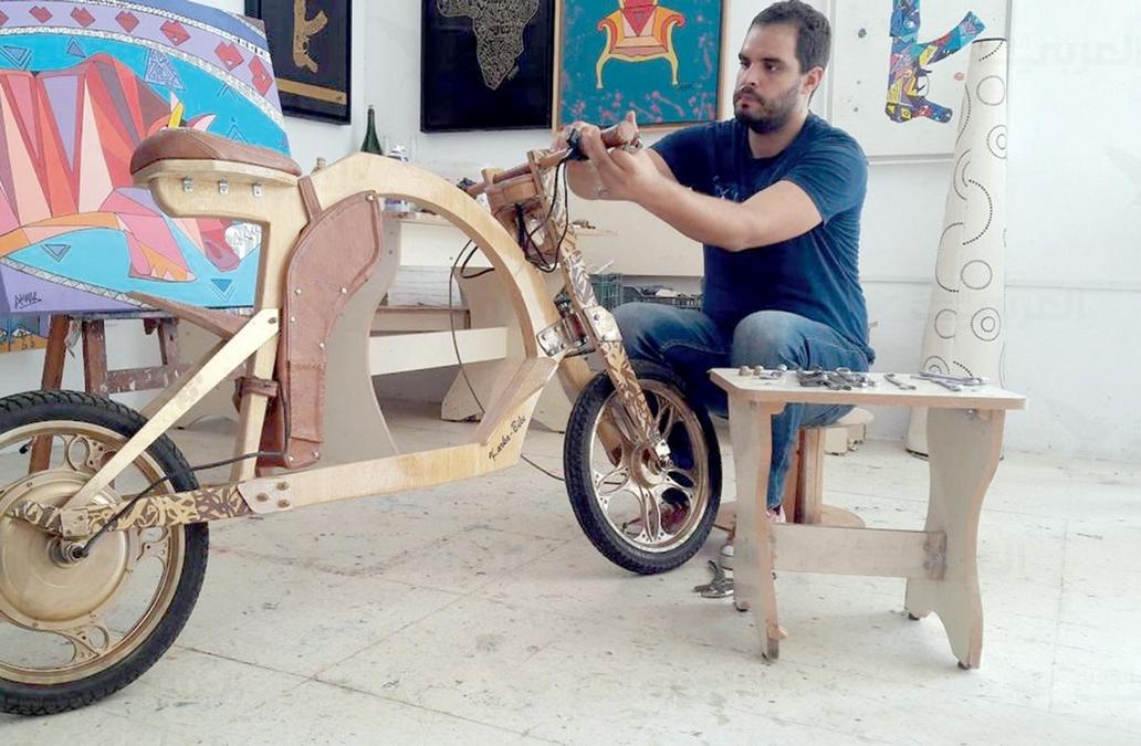 ابتكار درّاجة صديقة للبيئة الأولى من نوعها في تونس