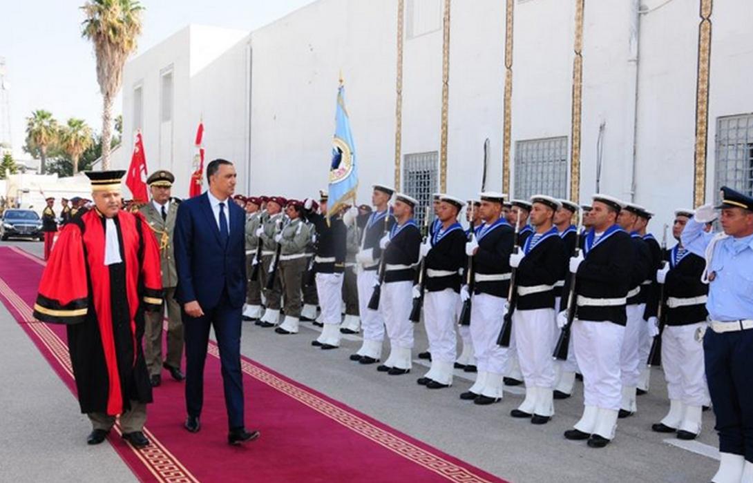 وزير الدفاع الوطني يطلع على سير العمل بوكالة الدولة العامة لإدارة القضاء العسكري