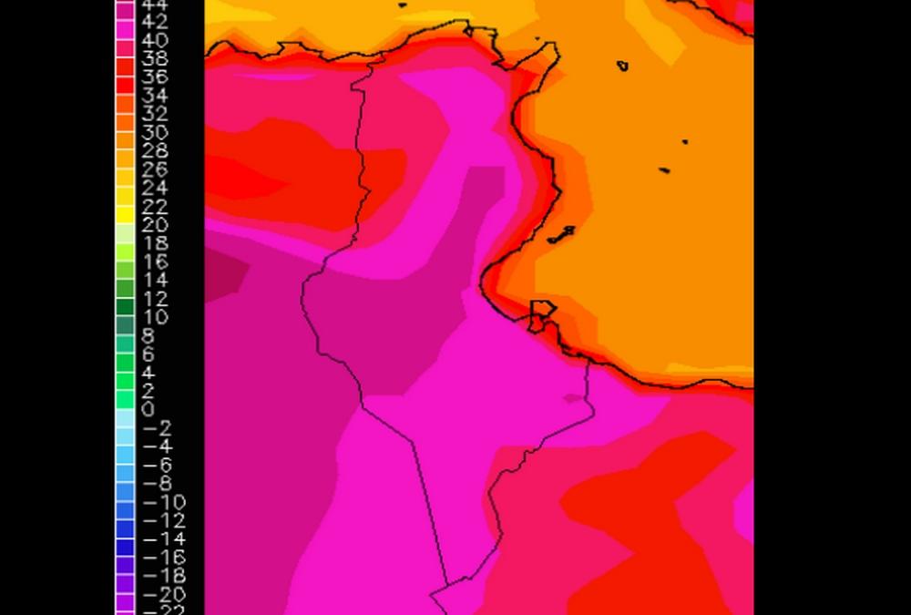 الحرارة تنخفض بداية من الثلاثاء القادم