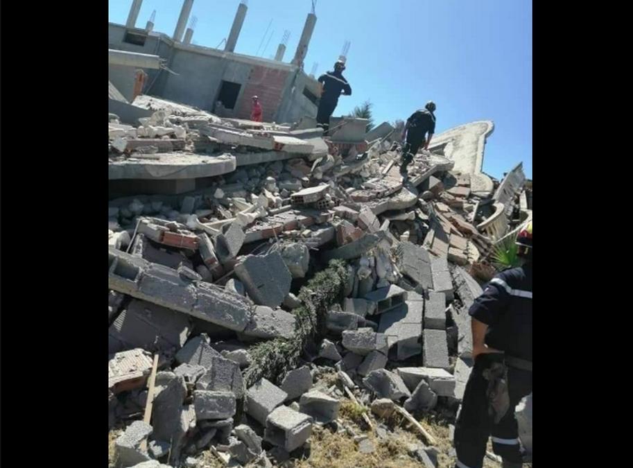 الجزائر : هزة أرضية بقوة 4,9 درجات