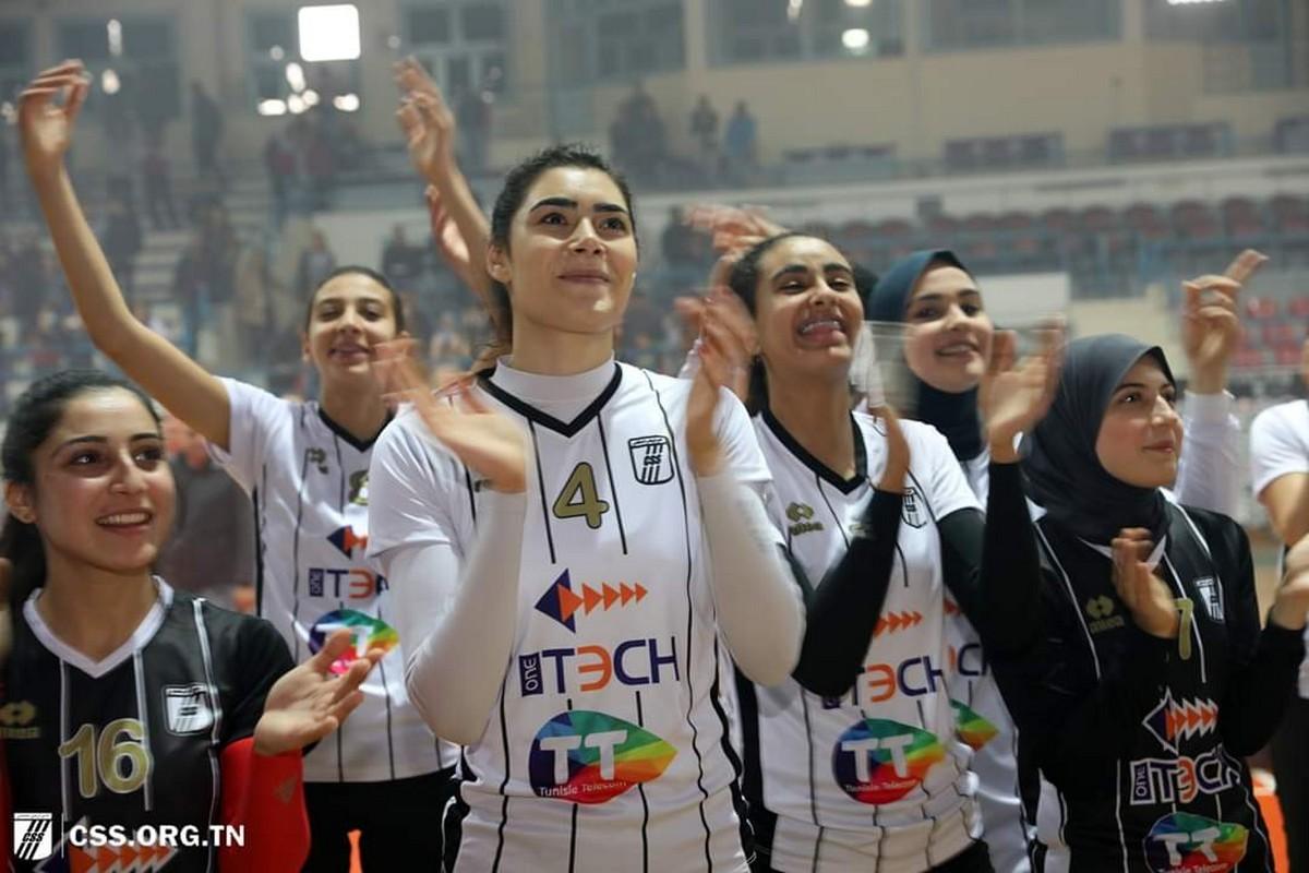 فتيات النادي  الصفاقسي لكرة  الطائرة :محمد علي بالشيخ المدرب الجديد