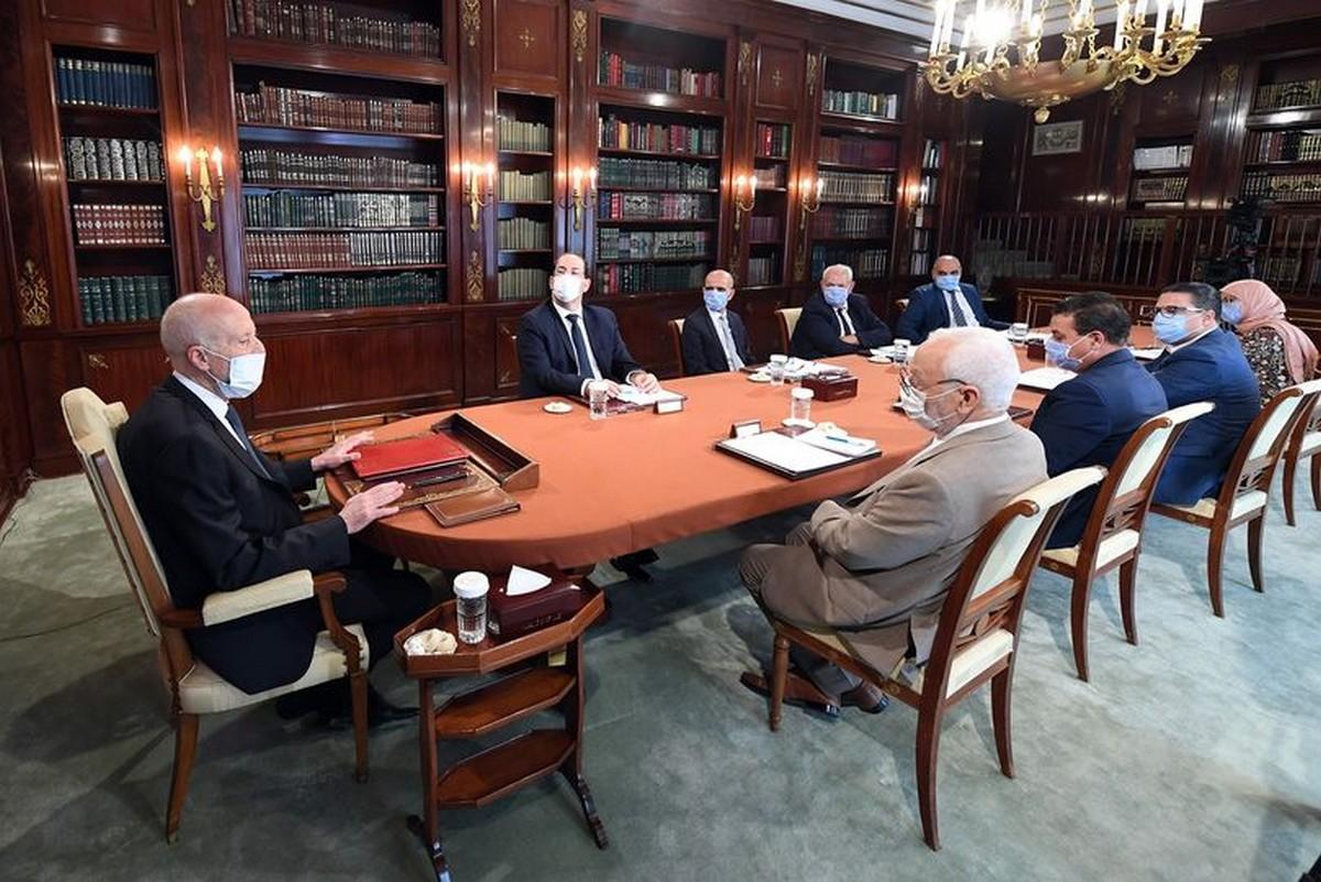 الرئيس يُشرف على إجتماع مجلس الأمن القومي ..إمكانية اعلان حظر الجولان مجددّا