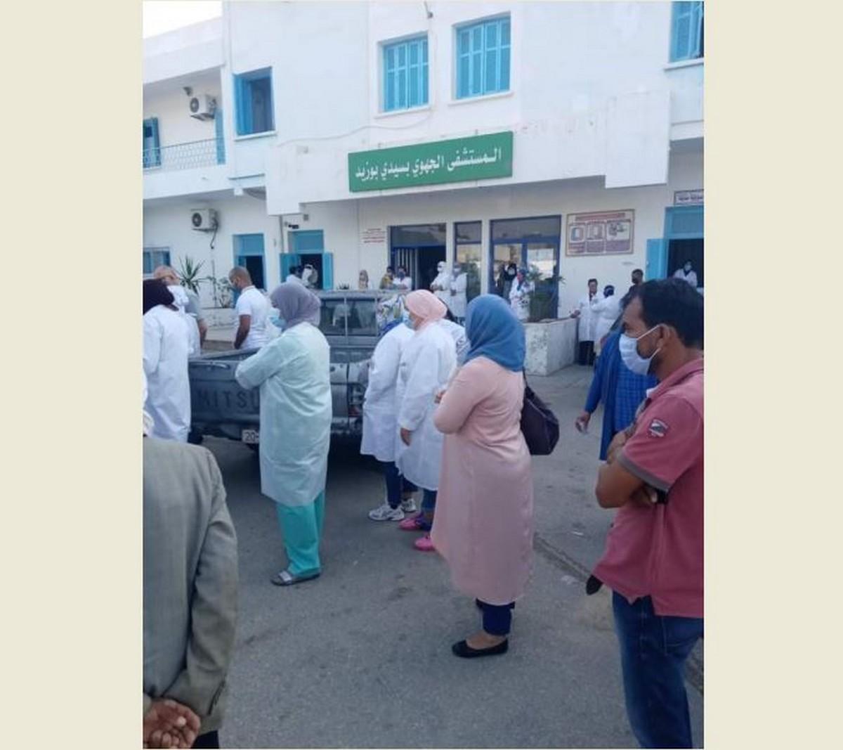 سيدي بوزيد: تسجيل 9 إصابات بفيروس كورونا في صفوف الإطارات الطبية وشبه الطبية