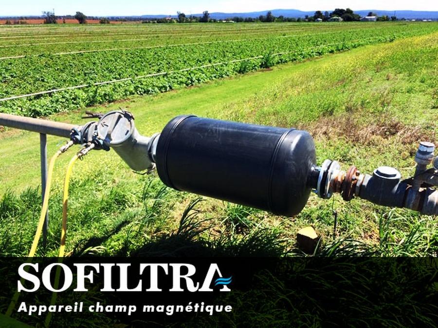 شركة سُوفيلترا توفر لكم معالجة مياه الري عالية الملوحة باستعمال التقنية المغناطيسية الحديثة