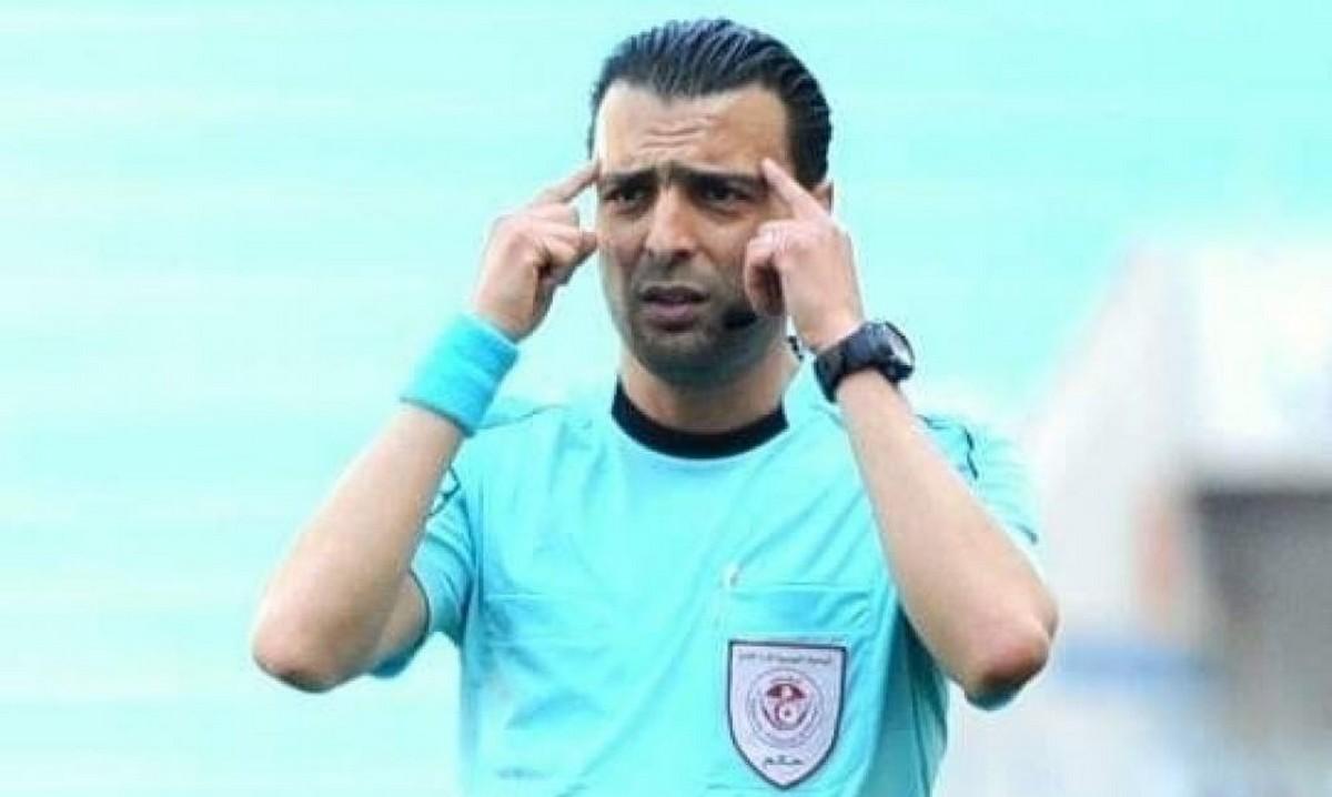 نعيم حسني حكم مباراة الكأس الممتازة بين الترجي والنادي الصفاقسي