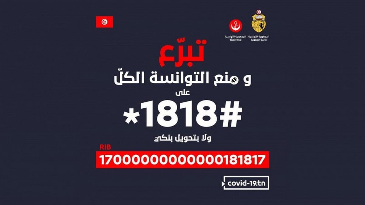 كورونا :201.6 مليون دينار قيمة التبرعات الوافدة على صندوق 1818