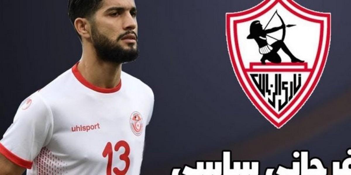 لاعب  الزمالك المصري الفرجاني  ساسي  يصاب  بفيروس  كورونا