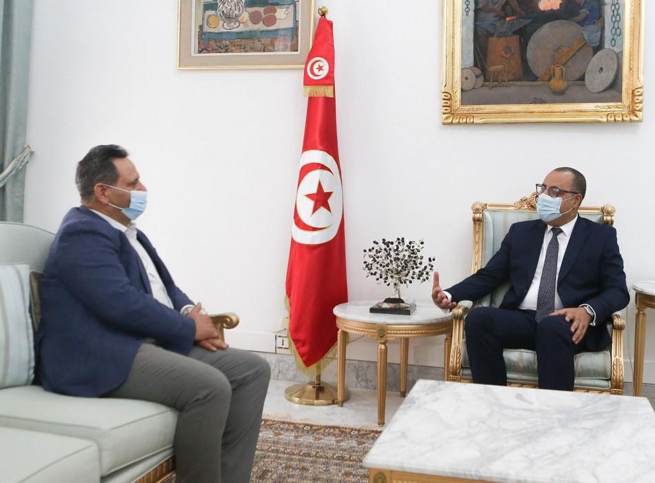 المشيشي يلتقي الرئيس السابق للنقابة الوطنية للصحفيين التونسين