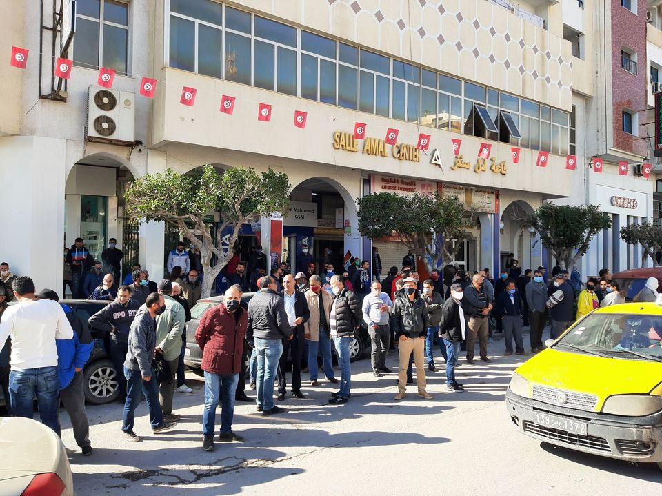 صفاقس: وقفة احتجاجية أمام مقر الولاية