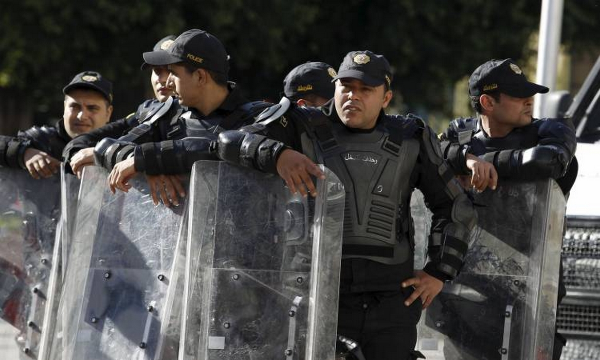 توزر: مواجهات  بين  الامن ومحتجين