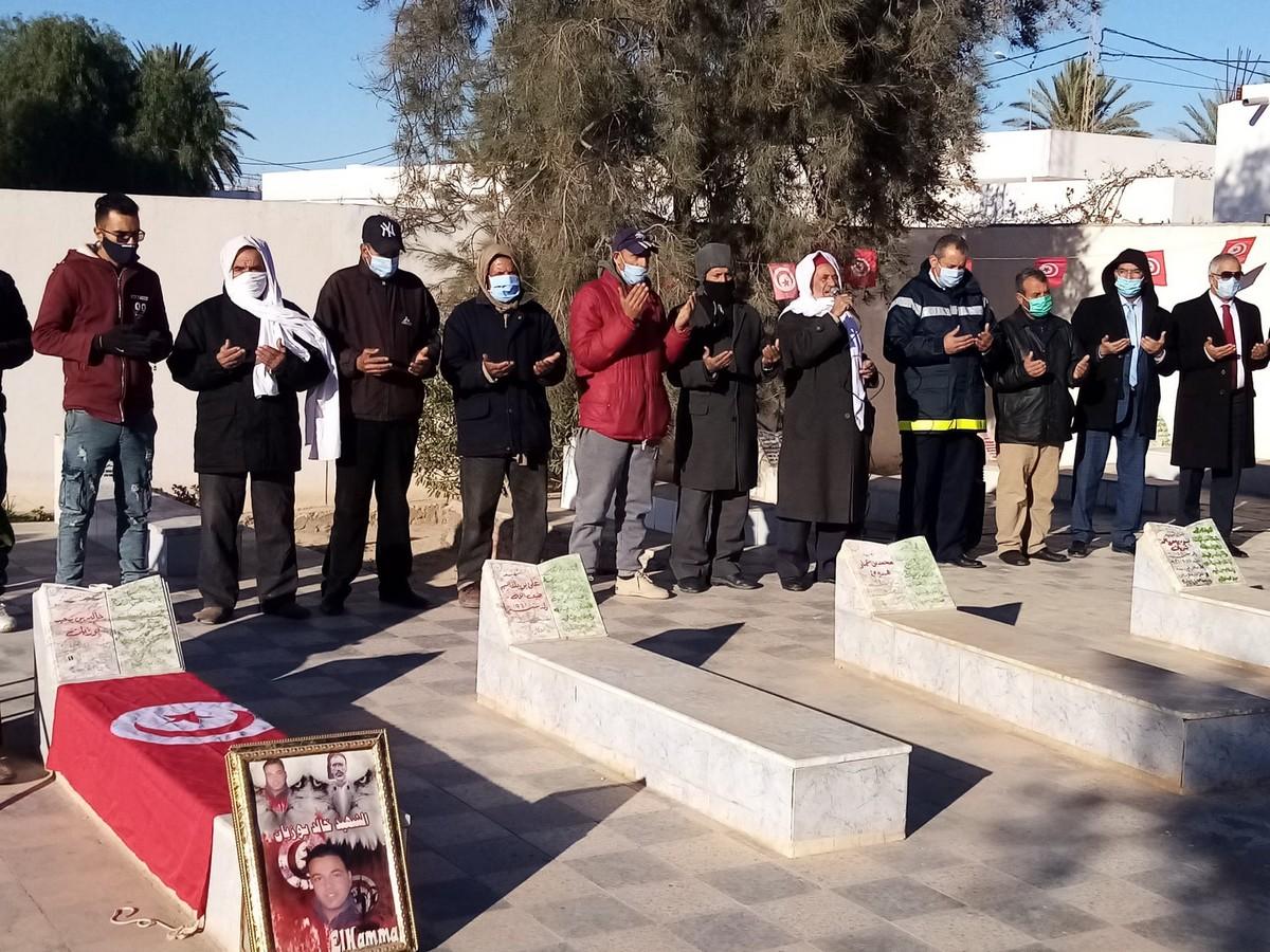 الحامة : احياء الذكرى العاشرة ليوم الشهيد