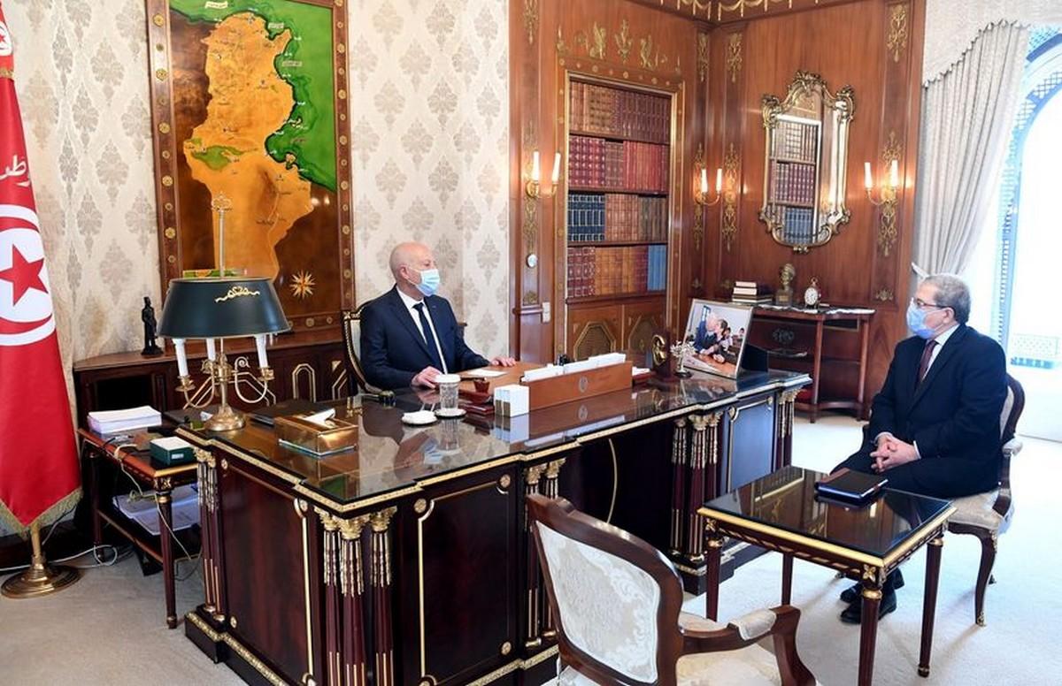 رئيس الدولة يستقبل وزير  الخارجيّة