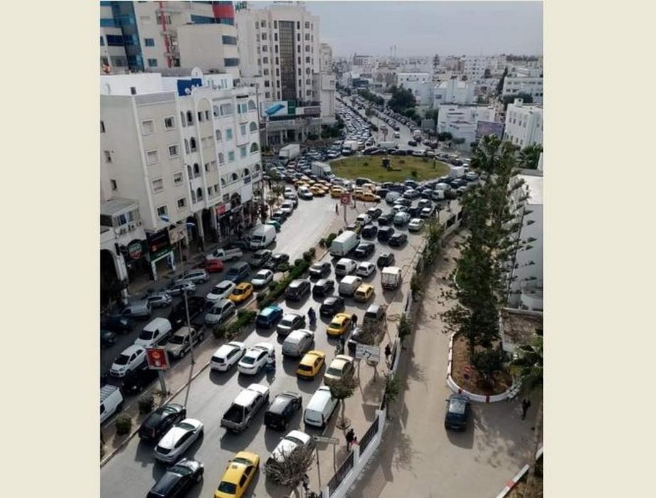 صفاقس: أزمة المرور تزيد الحياة اليومية سوء