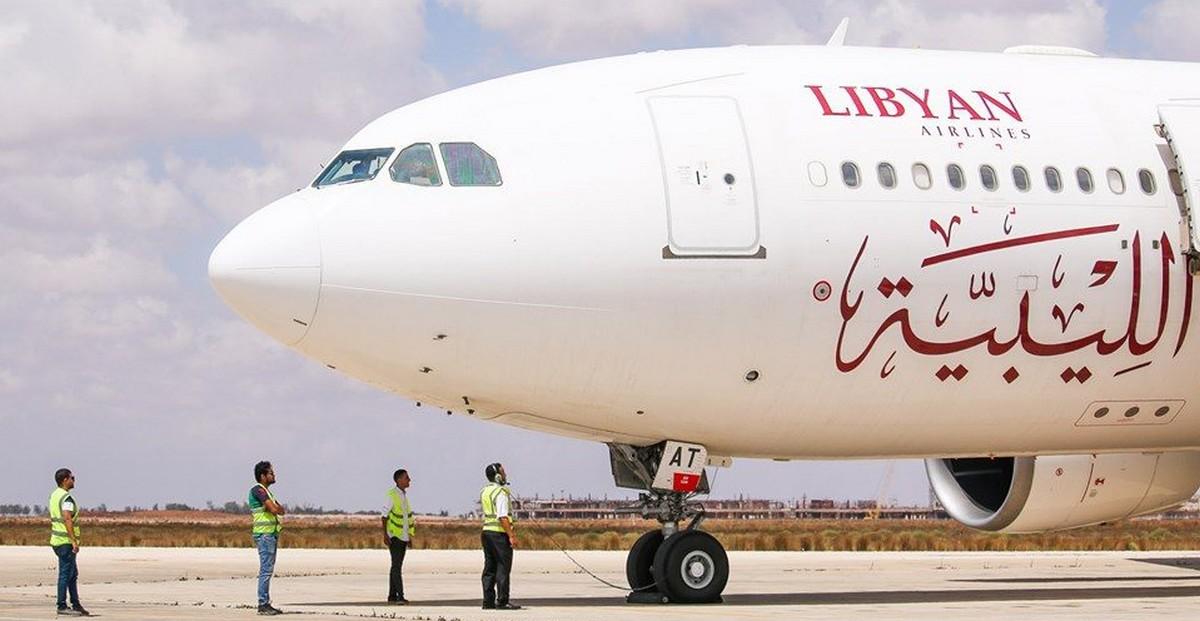 الخطوط الليبية تعلن استئناف الرحلات من بنغازي إلى تونس