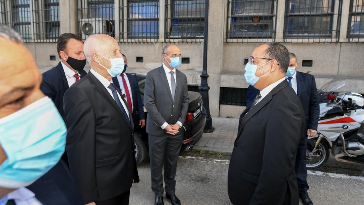 سعيّد يقترح إنشاء اتحاد عام لقوات الأمن الداخلي