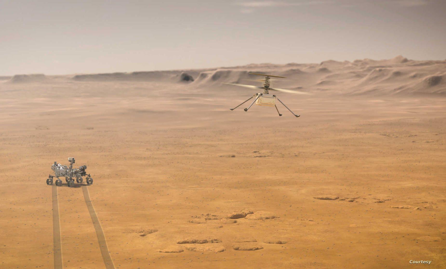 ناسا تكشف الليلة عن أوّل فيديو مباشر من سطح المريخ