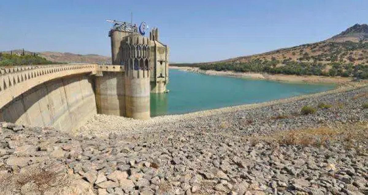 سد سيدي سالم : نقص كبير في مخزون المياه