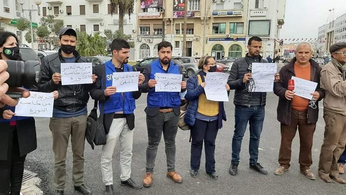 صفاقس : الصحفيات والصحفيون في  وقفة احتجاجية اليوم