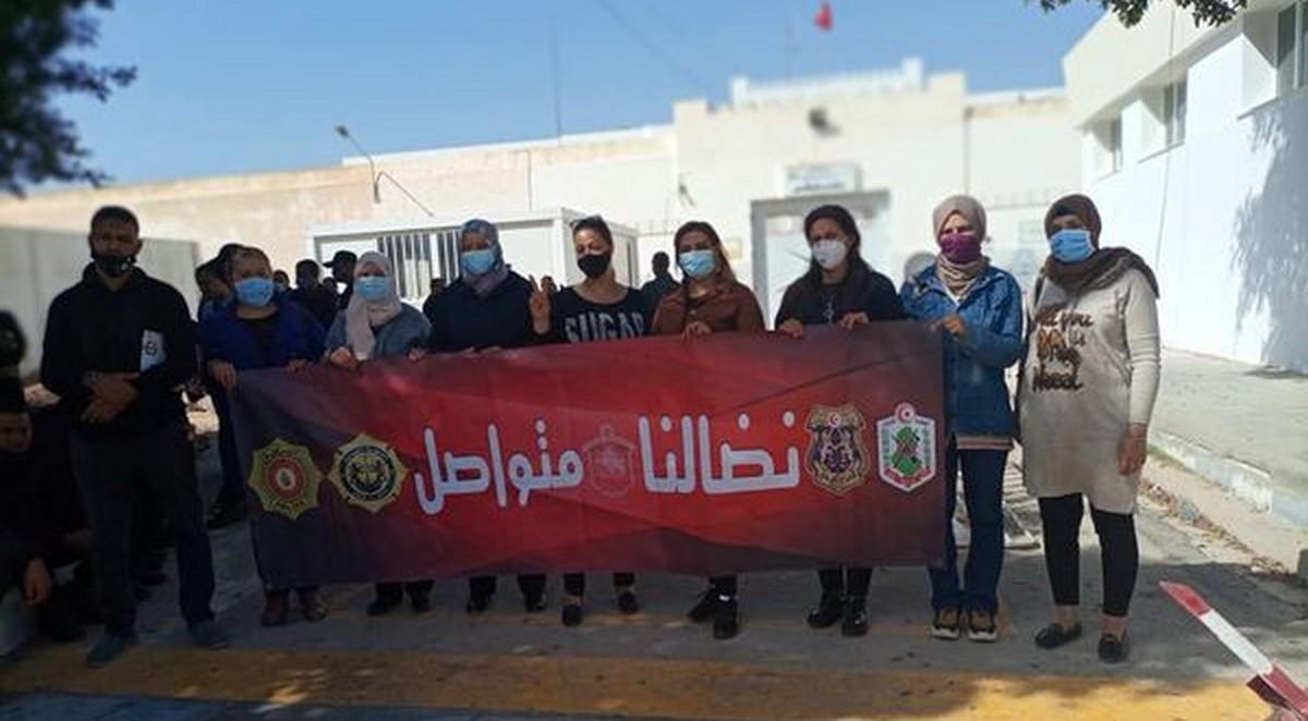 وقفات احتجاجية للنقابة الأساسية لإطارات وأعوان سجن صفاقس