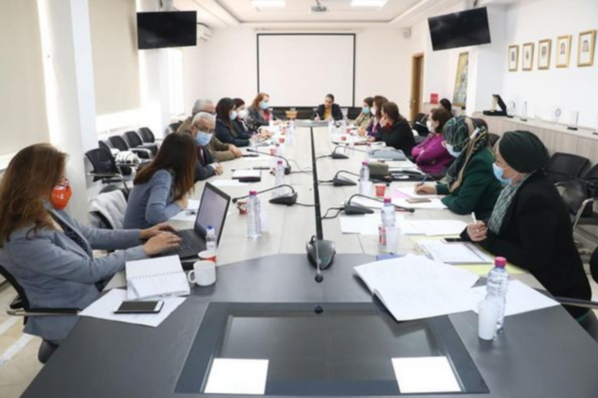 جلسة عمل لمتابعة تنفيذ الخطة العامة التنفيذية لقرار مجلس الأمن 1325