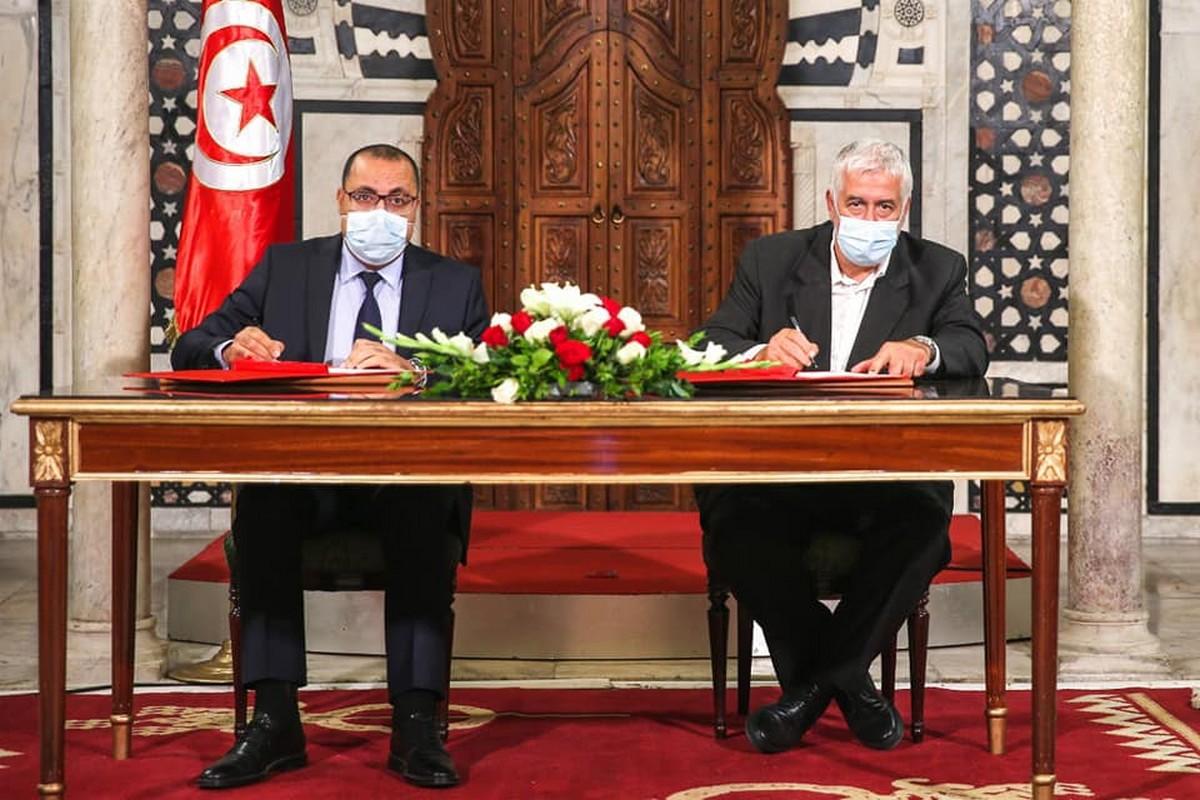 اتفاق مشترك بين الحكومة والاتحاد التونسي للفلاحة والصيد البحري