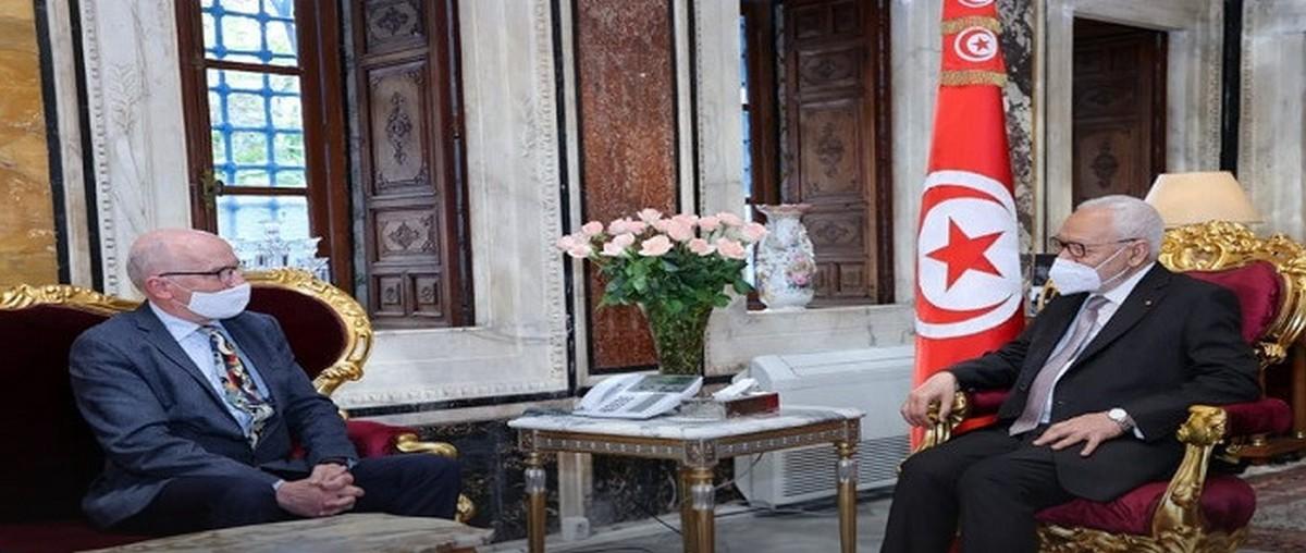 ماذا في لقاء الغّنوشي بسفير الاتّحاد الأوروبي؟