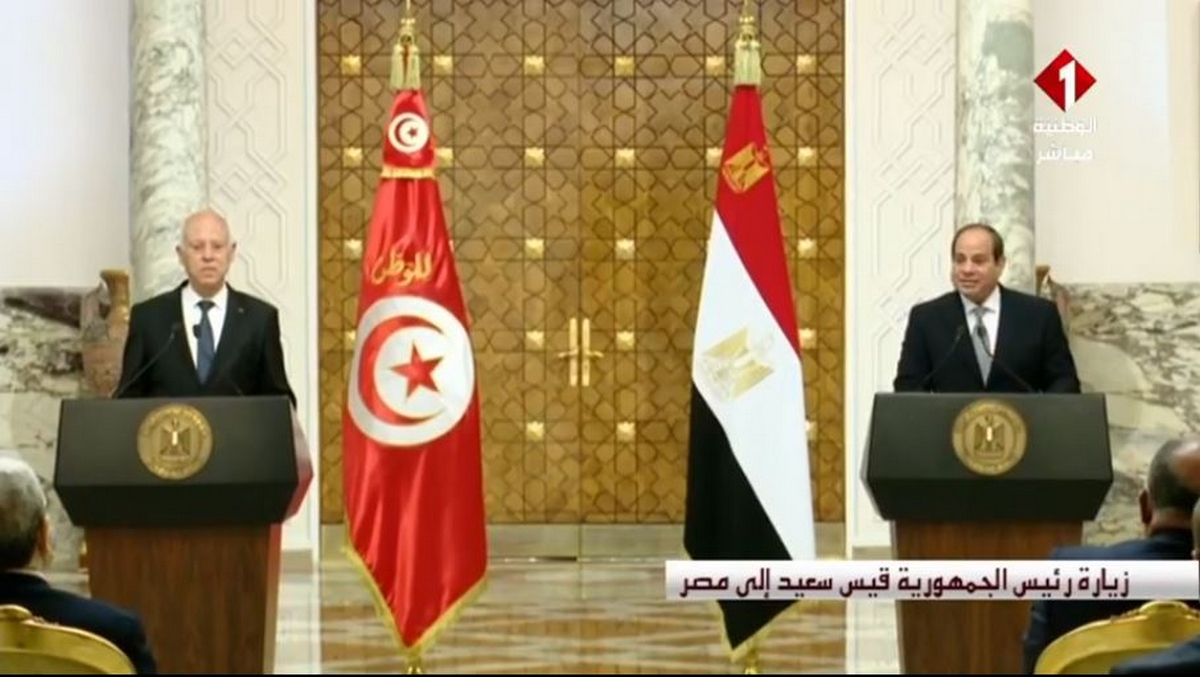 قيس سعيد: الأمن القومي لمصر هو أمننا وموقف مصر في أي محفل دولي سيكون موقفنا.