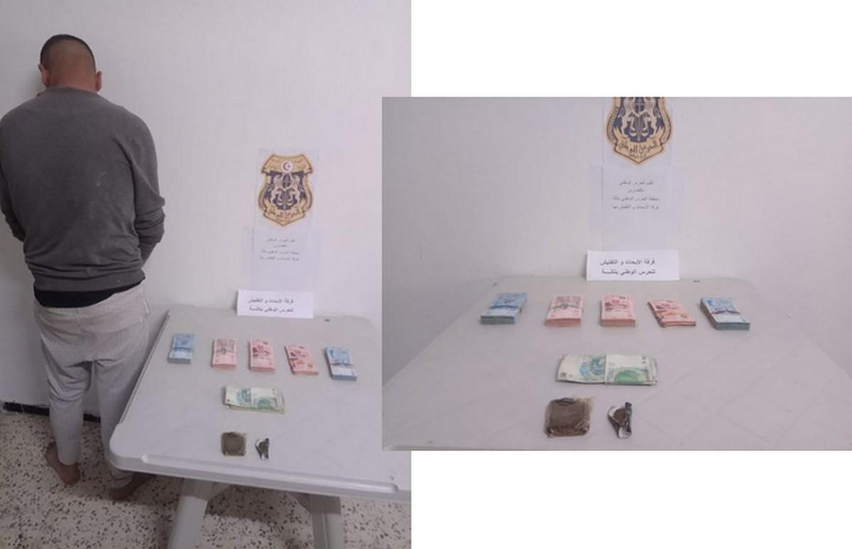 تالة : القبض  على عصابة لترويج المخدّرات