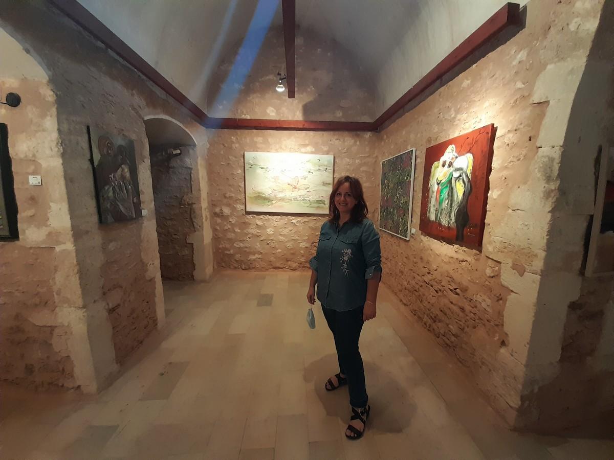 المعرض  التشكيلي السنوي بقاعة الفندري بالقصبة يصل الى نهايته