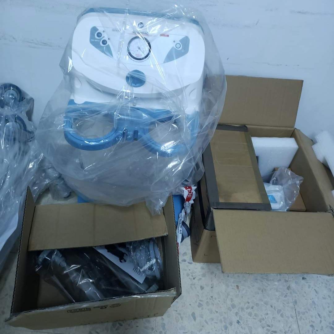 تقديم معدات طبية وشبه طبية هبة للمستشفى المحلي بالصخيرة