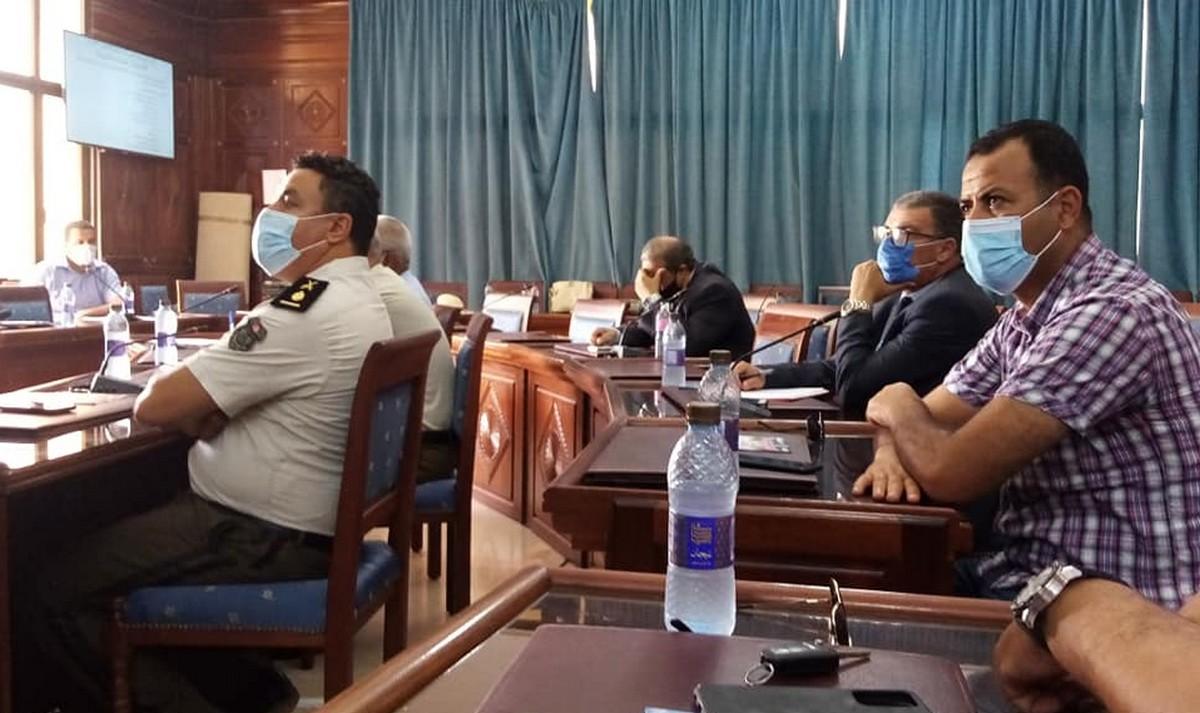 انعقاد اللجنة الجهوية للسلامة المرورية برئاسة السيد أنيس الوسلاتي والي صفاقس