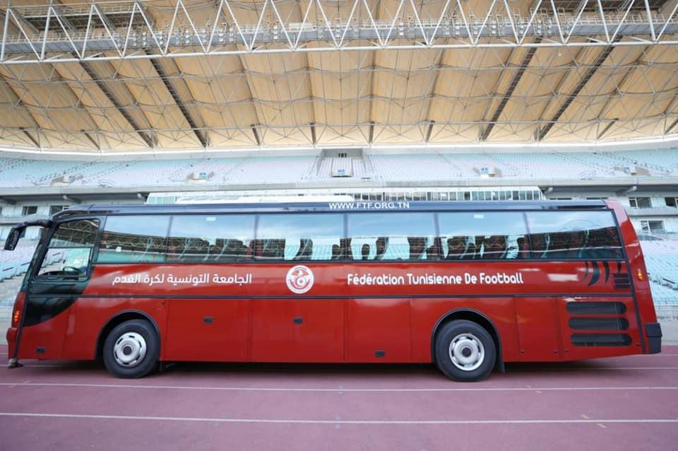 حافلة جديدة على ذمة المنتخب الوطني