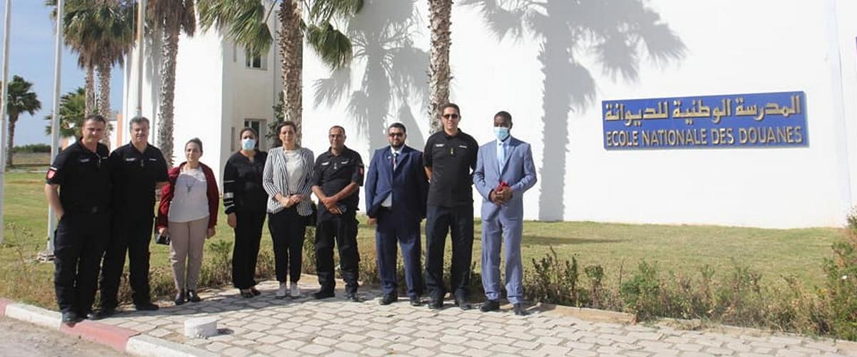 زيارة وفد من الجمارك الليبية إلى مقر المدرسة الوطنية للديوانة