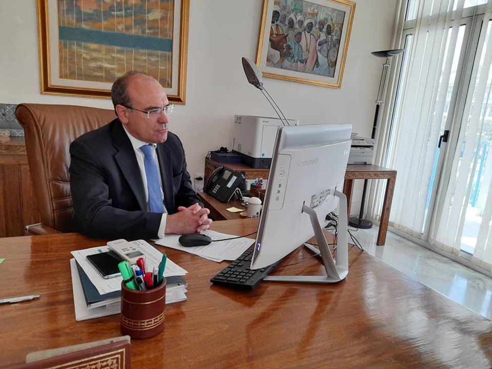 جلسة عمل للتحضير لمشاركة تونس في الصالون الدولي ارتيجيانو إن فيارا 2021 بميلانو