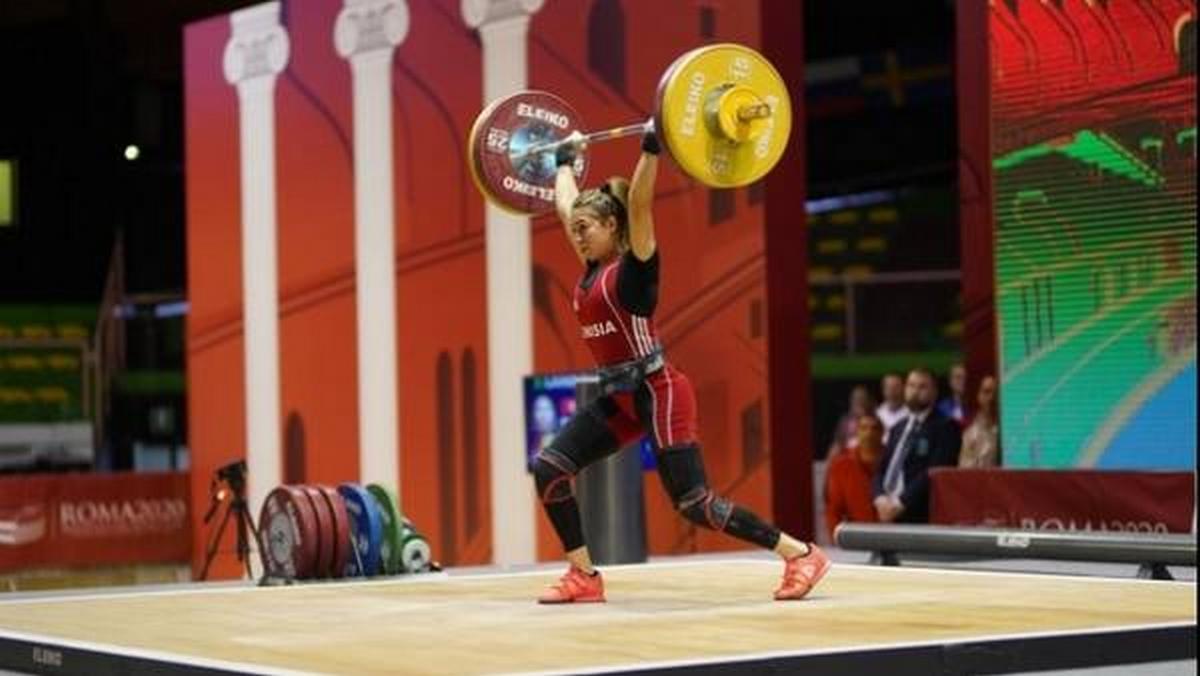الأولمبياد رفع الاثقال: خطأ فني من شيماء الرحموني يحرمها من رفع المحاولات المتبقية