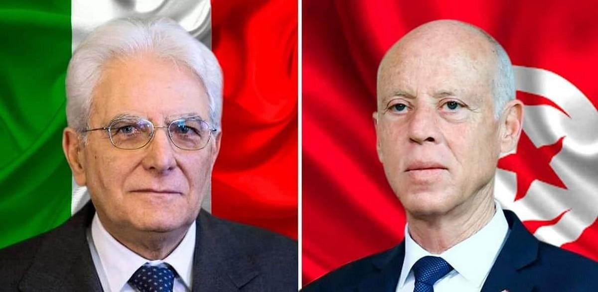 في اتصال هاتفي مع رئيس الجمهورية: الرئيس الإيطالي يتعهّد بتوفير كميات من اللقاح لتونس